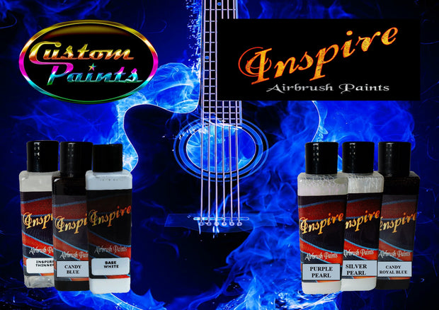 Inspire Airbrush Blue Fire Kit