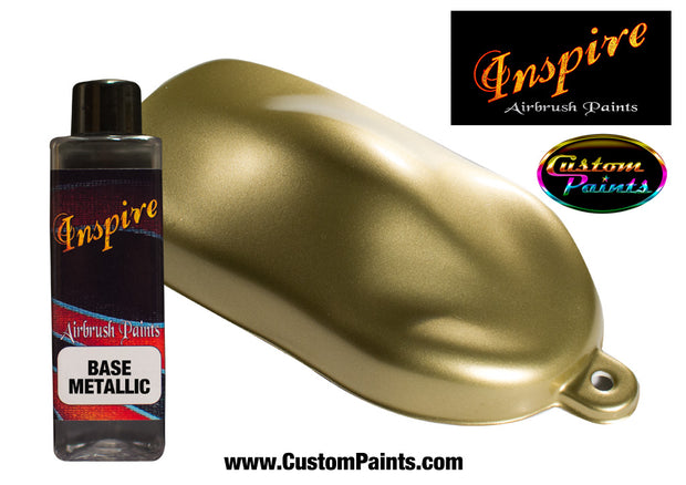 Gold Metallic Inspire Airbrush