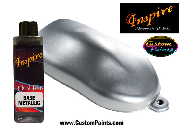 Silver Medium Metallic Inspire Airbrush