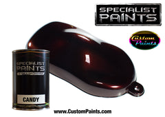 Candy Brown over Silver Metallic Base