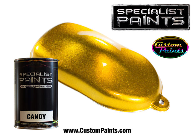 Candy Gold over Silver Metallic Base