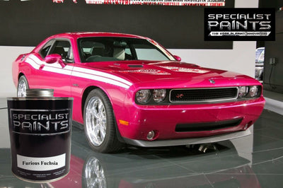 Chrysler Automotive: Furious Fuchsia - Paint Code GHP