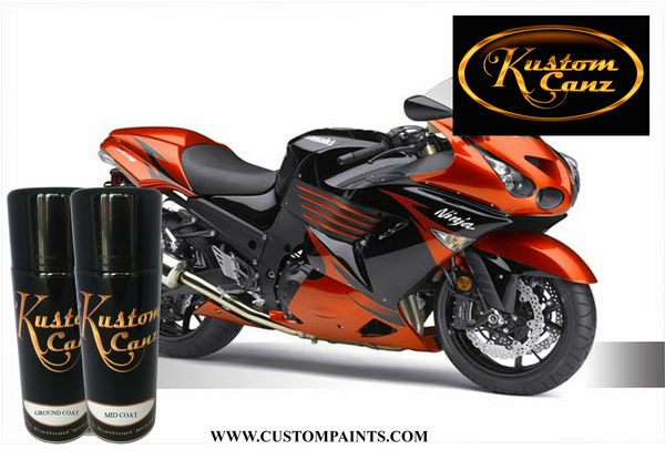 Kawasaki Bike Colours Custom Paints Uk And Europe