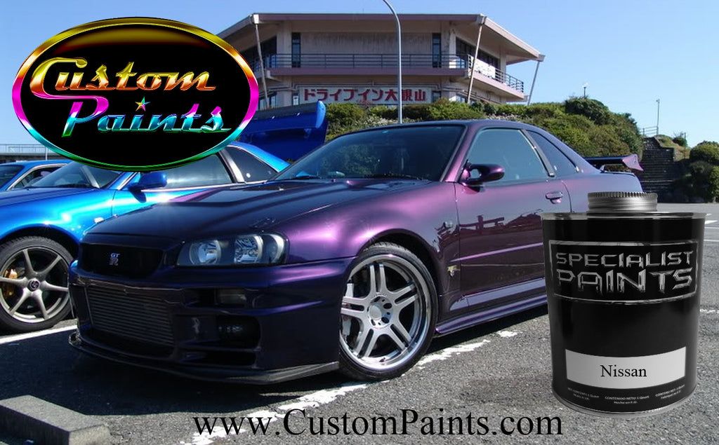 Custom car paint colours uk