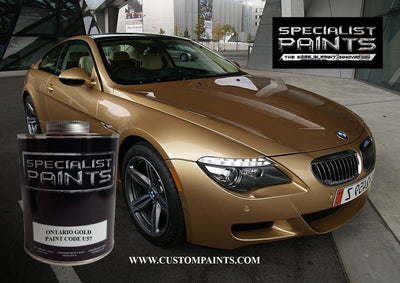 BMW Automotive: Ontario Gold - Paint Code U57
