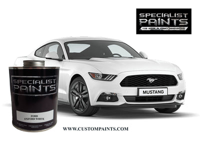 Ford Automotive: Oxford White - Paint Code Z1