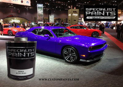 Chrysler Automotive: Plum Crazy - Paint Code FHG