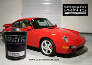 Porsche: Pure Red - Paint Code P3G