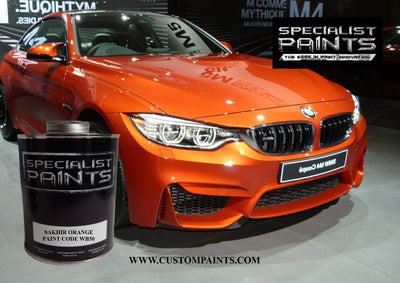 BMW Automotive: Sakhir Orange - Paint Code WB50