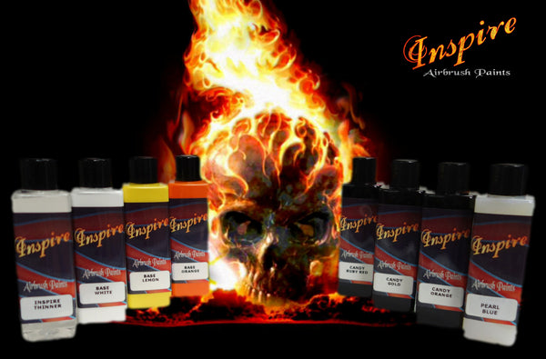 Inspire Airbrush Fire Kits