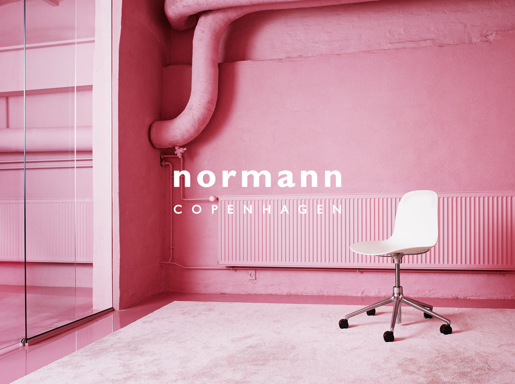 A Chic Pink Office by Normann Copenhagen