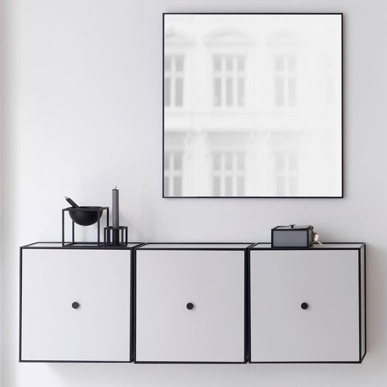 Frame. The elegant flexible storage solution - By Lassen