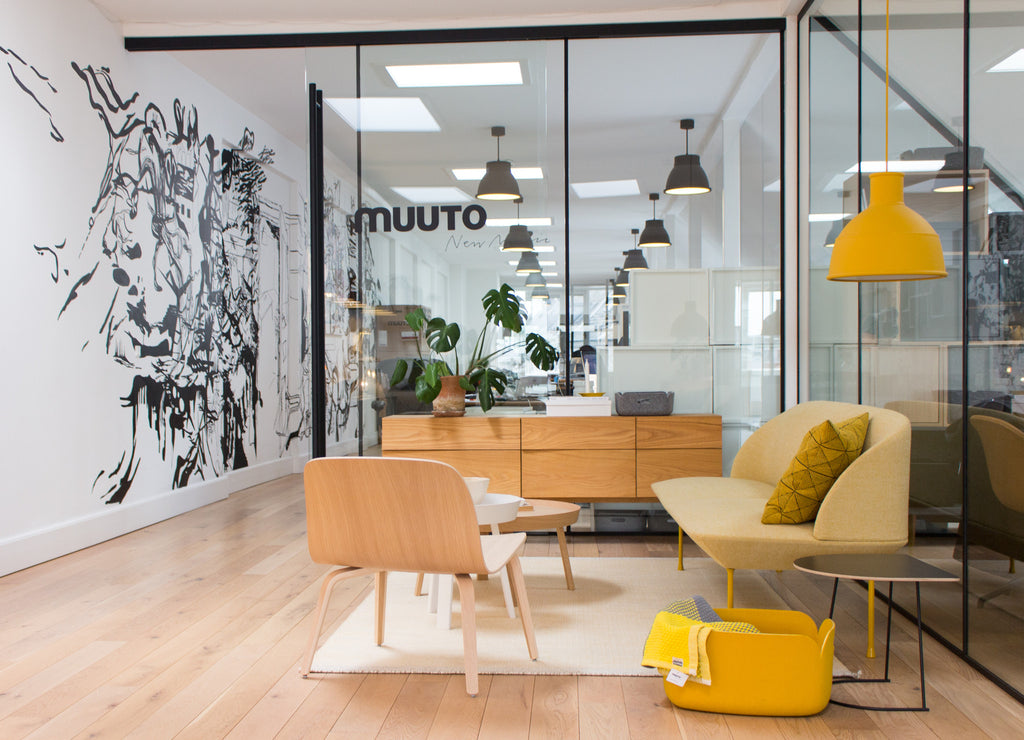 An inside view to Muuto headquarters.