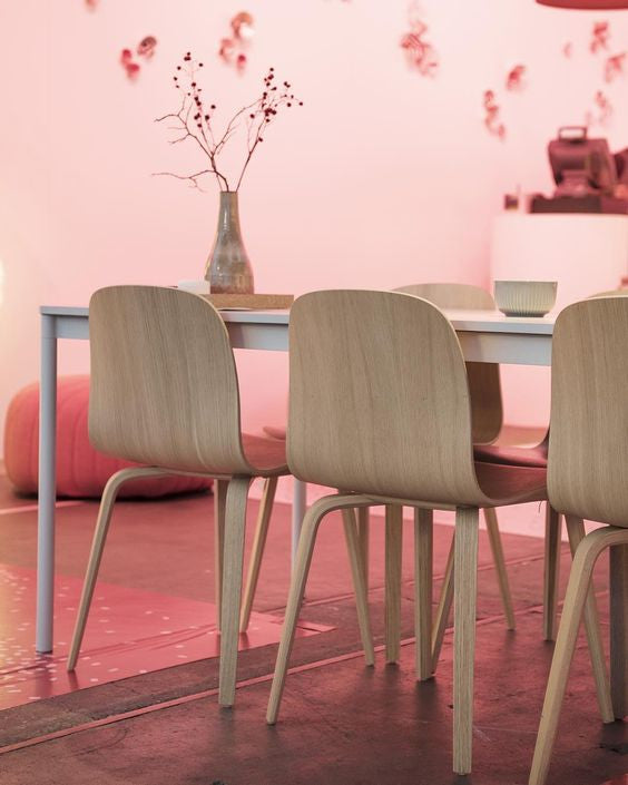 Adding pink with elegance to your home for spring.
