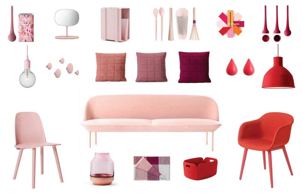 20 objects to use pink in side of your home.