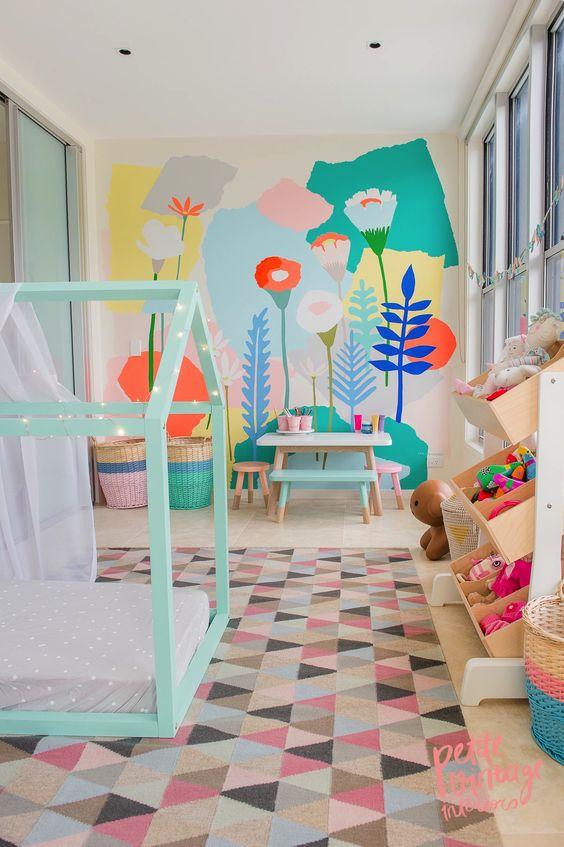 Play house, kids bedroom, playroom, inspiration