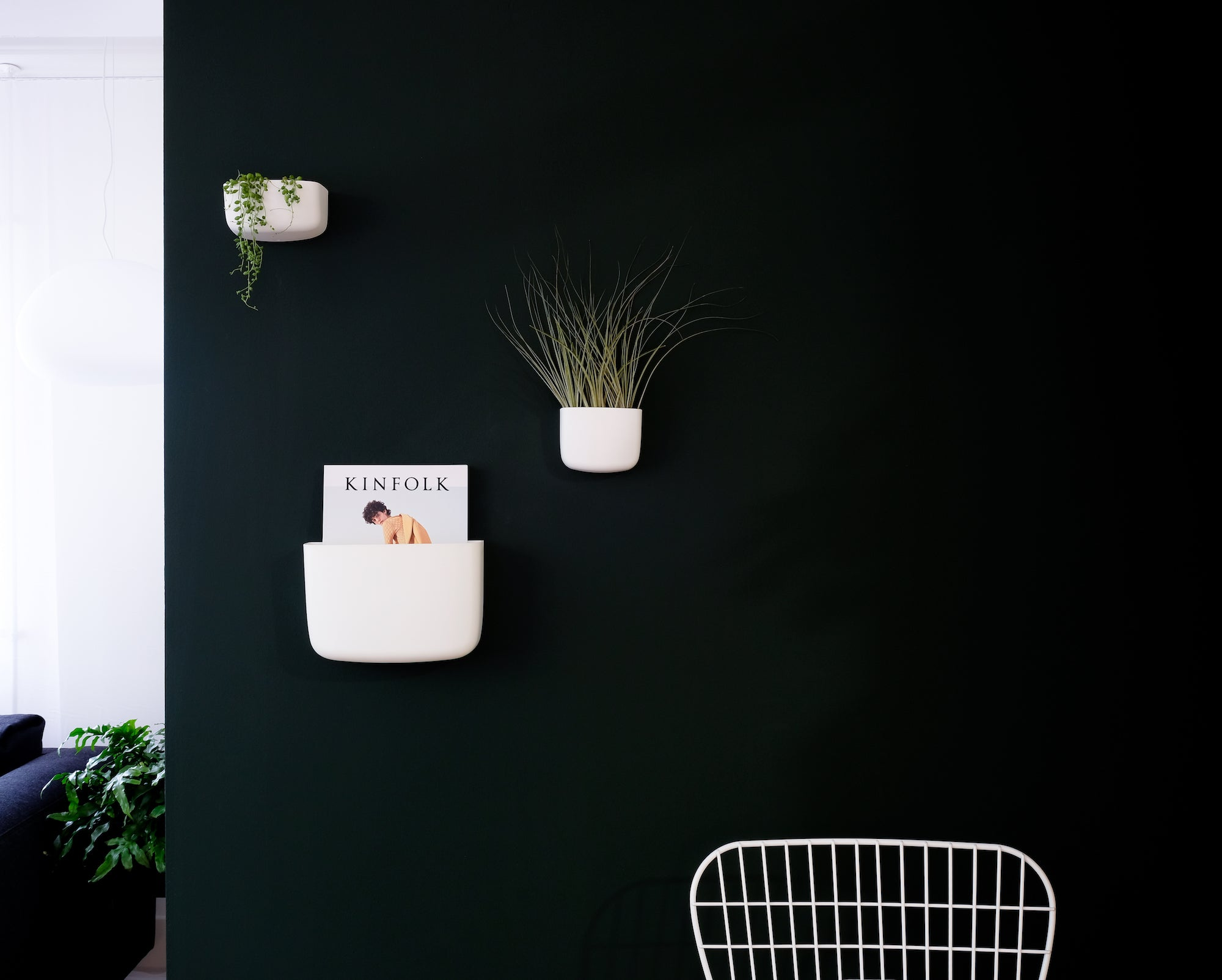 Green wall crioll.design showroom
