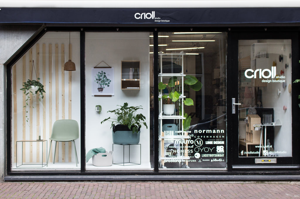 Window display june 2017 crioll designshop