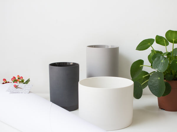 Cylindrical Vase And Pot Planter From Menu As Crioll Designshop