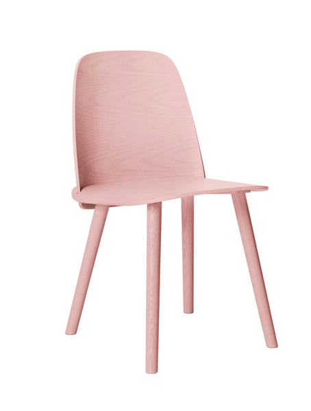 Nerd chair in pink, rose from Muuto