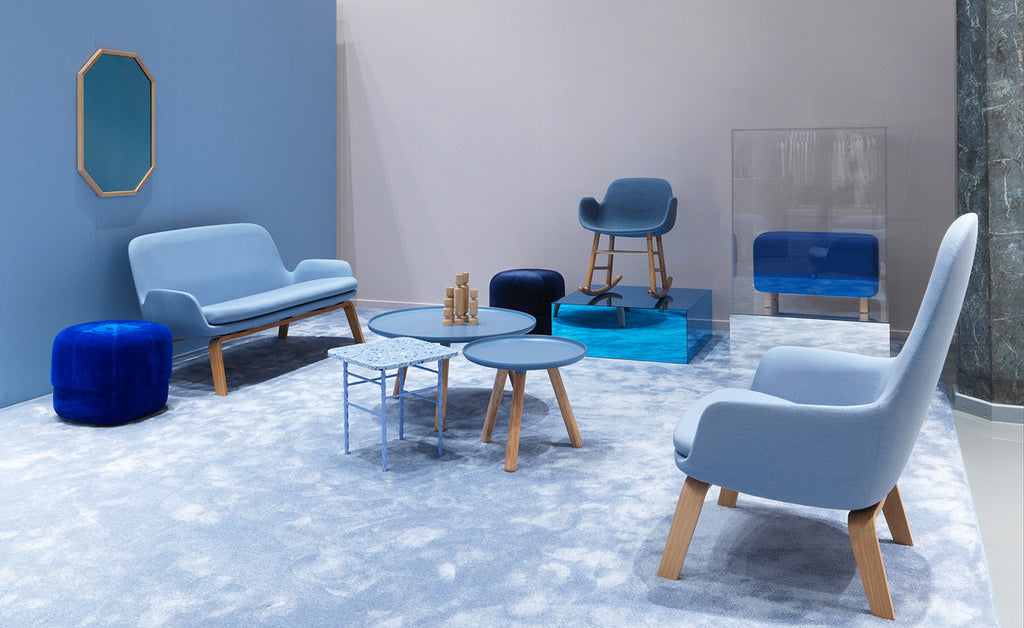 Era sofa and lounge, normann copenhagen Blue, interiors, scandinavian design, furniture