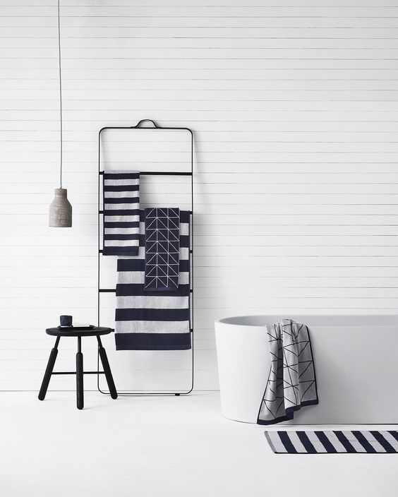 Towel ladder by Norm Architect for Menu A/S bathroom inspiration