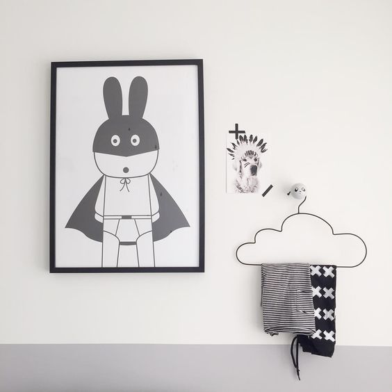 Miniwilla, Superhero poster, prints, design duo Sandra and Marcus compose playful and stylish graphic posters