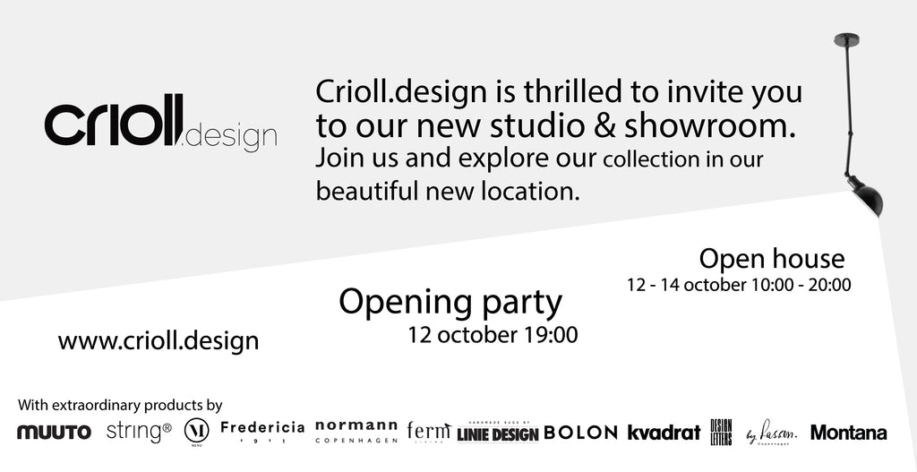 crioll showroom opening invite