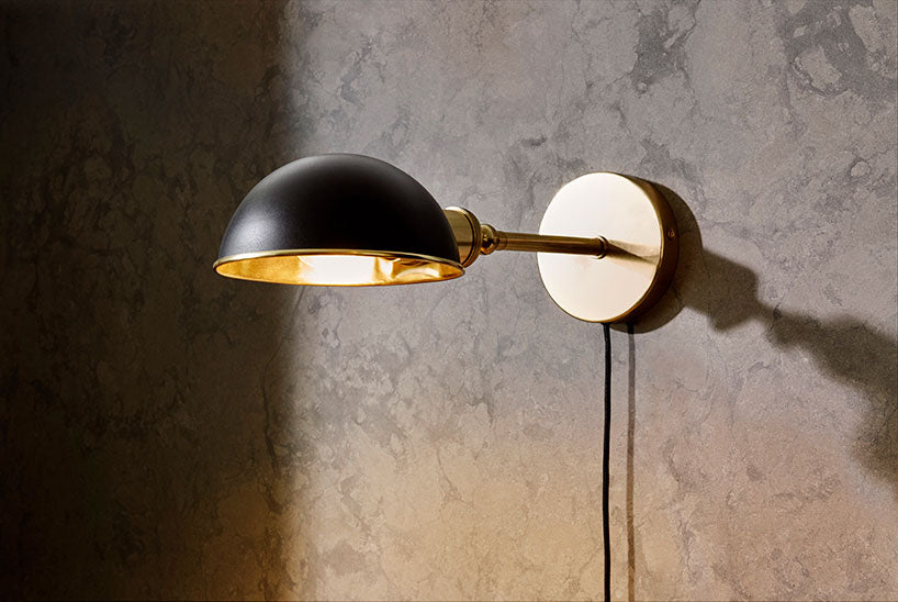 walker wall lamp designed by Soren Rose for Menu AS