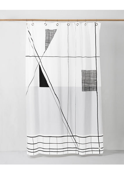 Trace Shower Curtain -  - Ferm Living - 1