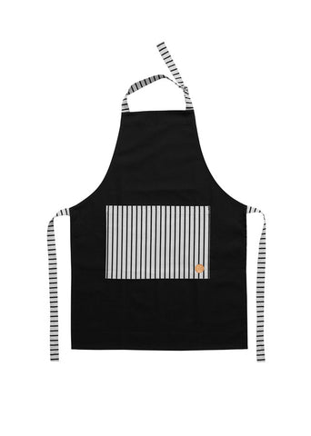 Cibo Apron - Black/White