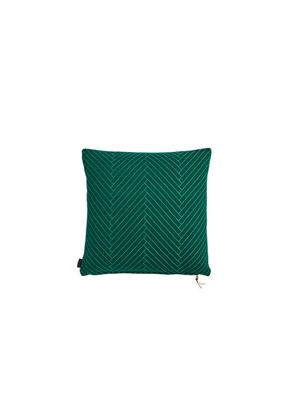 Fluffy Herringbone - 50x50cm Dark Green