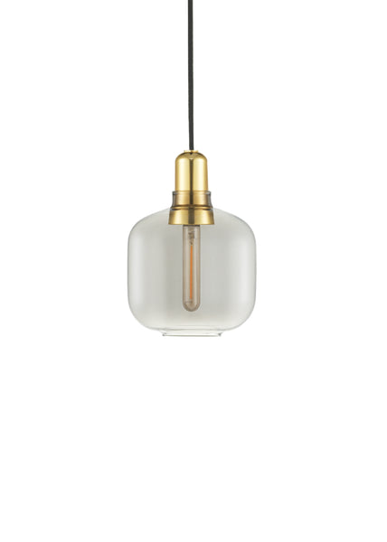 Amp Lamp Smoke/Brass