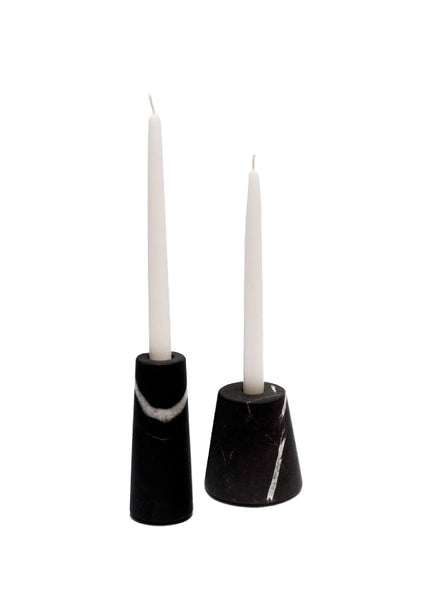 Conical Candle Holder Set