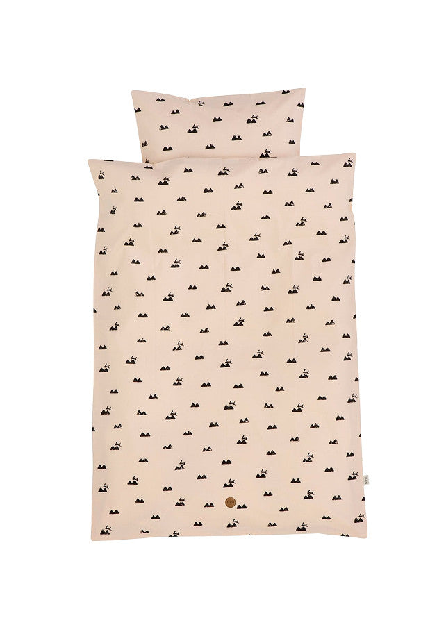 Rose Rabbit Bedding - Adult - Ferm Living - 3