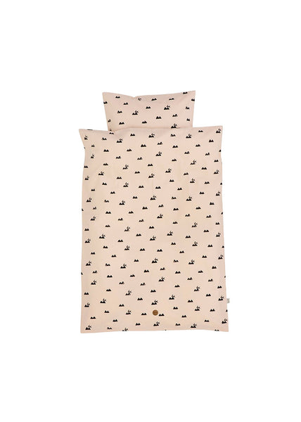Rose Rabbit Bedding - Baby - Ferm Living - 1