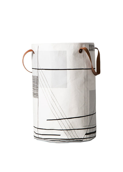 Trace Laundry Basket -  - Ferm Living - 1
