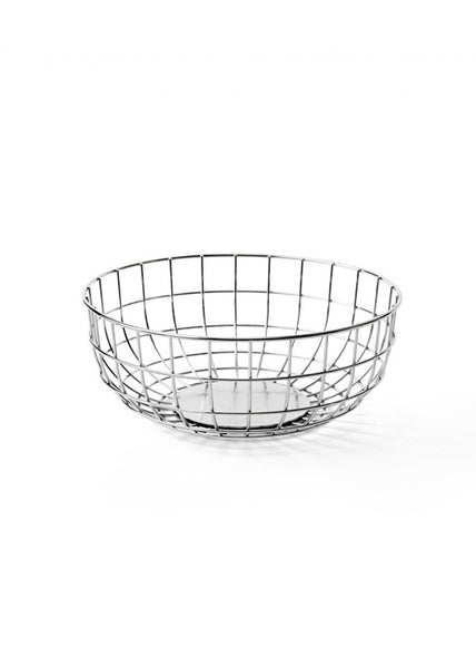 Norm Wire Bowl - Chrome - Menu A/S - 1