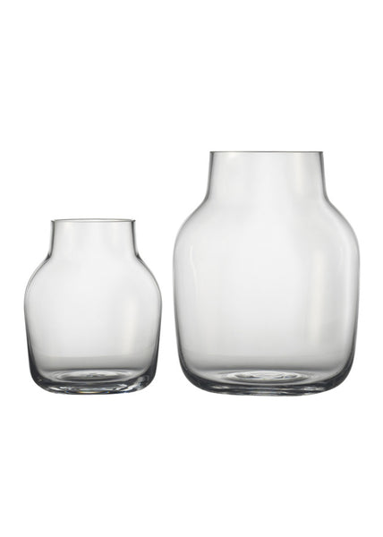 Silent Vase - Small / Clear - Muuto - 1