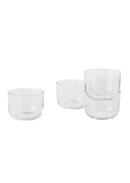 Corky Drinking Glass (set of 4) - Clear - Muuto - 1