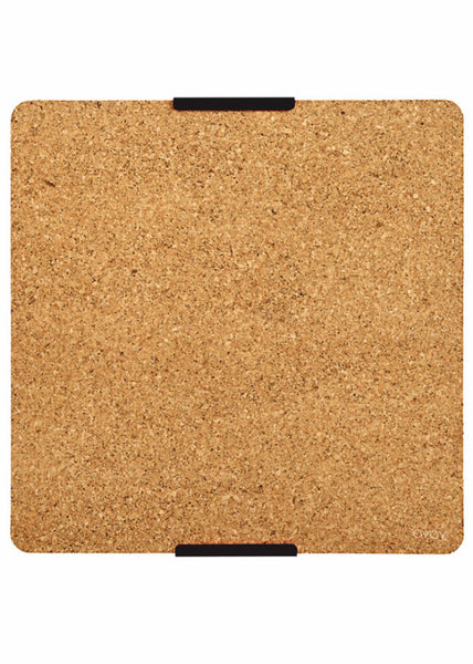 Cork notice board - Dark Grey - OYOY - 1