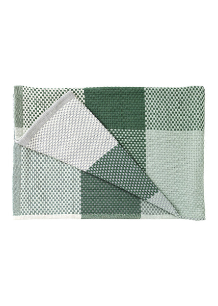 Loom throw - Green - Muuto - 4