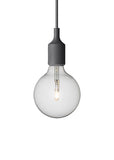 E27 Pendant Lamp - Dark Grey - Muuto - 4
