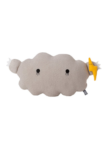 Cloud cushion grey