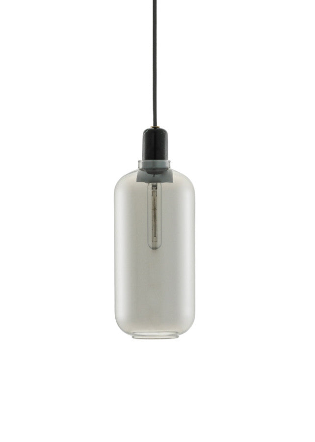Amp Lamp Smoke/Black - Large - Normann Copenhagen - 1