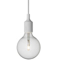 E27 Pendant Lamp - Light Grey - Muuto - 5