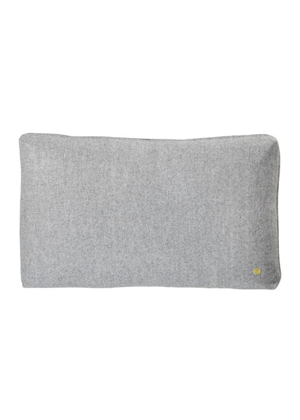 Wool Cushion - Light Grey - Ferm Living - 1