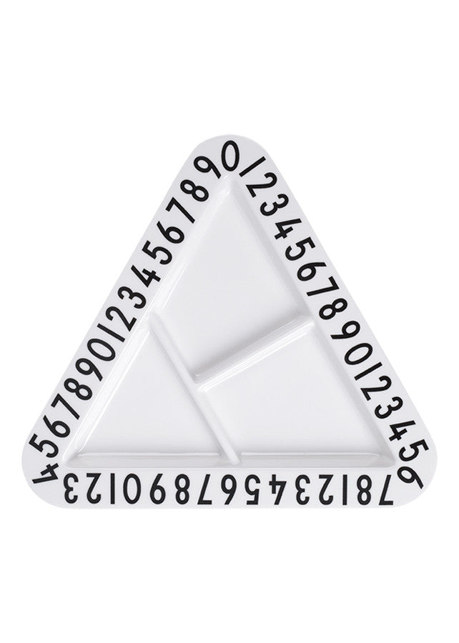 AJ Triangular Snackplate -  - Design Letters