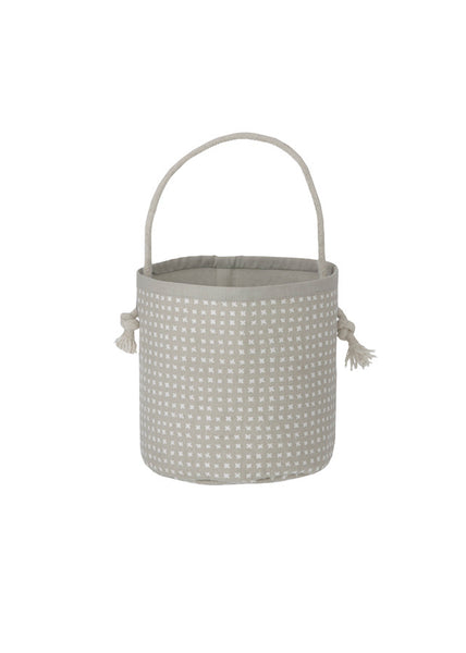 Grey Cross Basket - Mini - Ferm Living - 1