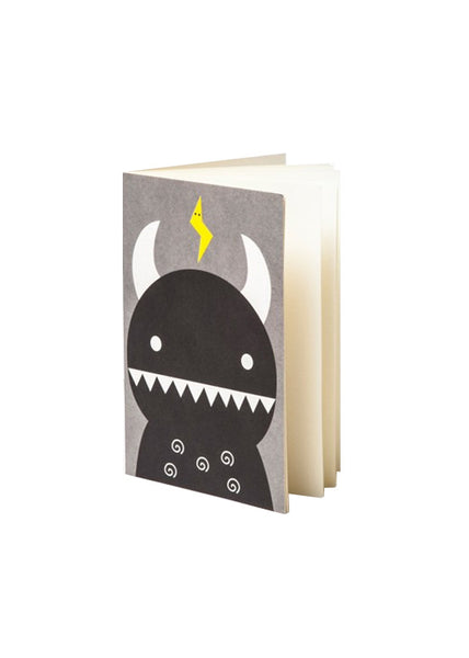 Black Ricemon pocket notebook - Ricemon B - Noodoll - 1
